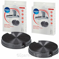 IGNIS Genuine 2 x Oven Cooker Vent Hood Type 29 Round Charcoal Carbon Filters