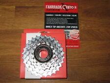 Cassettes y piñones negros para bicicletas universales