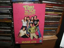 That 70s Show - Series 5 - Complete (DVD, 2007, 4-Disc Set)