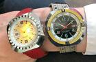 Lot 2 montres oversize BESANCON NOS