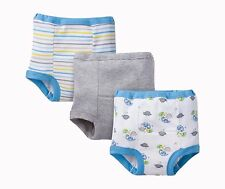 Gerber Baby Toddler Boy Training Pants, Sky Blue Dino, 3-Pack