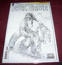 Volume II Evil Ernie #1 Back & White Variant Cover 1:30