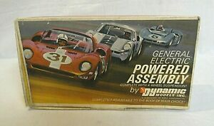 LOOK! 1960`S DYNAMIC 1/24 SLOT CAR HI-PO RTR CHASSIS & MOTOR COMBO IN THE BOX!