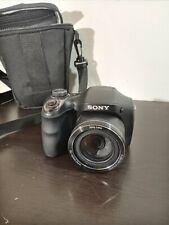 Sony Cyber-shot DSC-H300 20.1 MP Digital Camera Black