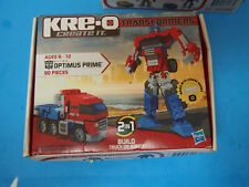 Transformers Kre-O 31143 Optimus Prime 90 Pieces OPEN PACKAGE SEALED BAGS