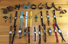 LARGE LOT 51 Unisex Men's or Women's Watches Movado Kenneth Seiko Timex Garmin +