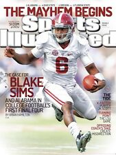 Blake Sims (December 29th, 2014) No Label Sports Illustrated SI Magazine