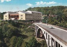 CAPRAROLA: Ponte degli Eroi ed Edificio Scolastico  1965