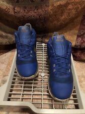 Nike Men's Versitile Game Royal/Metallic Silver Blue Basketball Shoe 15 Men US