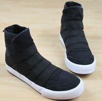Men's sneakers Slip on high top Vogue shoes Walking Comfort Flats Ankle Boots sz