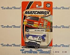 """2001 Matchbox #38 Earth Crunchers Series (white) """"THE WALL EATER""""  T4"""