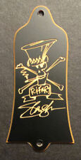 GUITAR TRUSS ROD COVER - Engraved GIBSON USA Guns N Roses AFD SLASH - BLACK GOLD