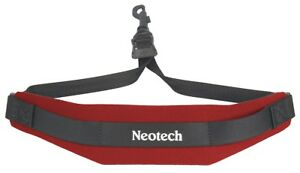 Neotech Soft Sax Strap Regular with Swivel Hook - Red