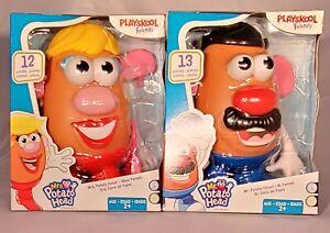 PLAYSKOOL Friends! Mr. & Mrs. Potato Head Classic Retro Toys HASBRO New In Hand!
