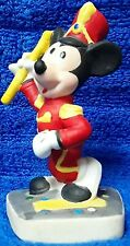 Vintage Schmid Disney Mickey Mouse Marching Band Leader Figurine