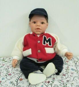 Adorable, Signed, Original Lee Middleton, Reva, Vinyl & Cloth Baby Doll, 1997
