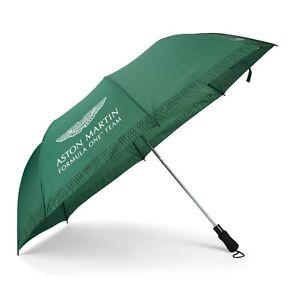 Aston Martin F1 Team Telescopic Compact Umbrella Green