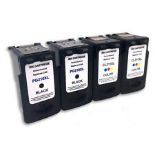 4 Combo PG-210XL CL-211XL Ink Cartridge for Canon PIXMA MX420 IP2700 IP2702
