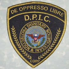 Dignitary Protection & Investigation Corp Patch - De Oppresso Libre - Security