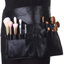 Professional Makeup Brush Waist Belt Portable 22 Pockets Cosmetic Brush Holder