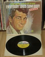 DEAN MARTIN Everybody Loves Somebody 1964 LP Original USA jazz vinyl