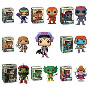 HE-MAN MASTERS OF THE UNIVERSE - POP FIGURE 8 DESIGNS TO CHOOSE FROM - FUNKO