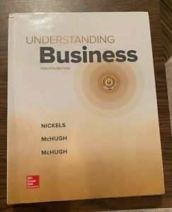 Brand New 2019 Hardcover Understanding Business 12th Edition by McGraw Hill