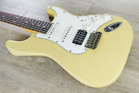 Suhr Classic Antique HSS Electric Guitar, Rosewood Fingerboard - Vintage Yellow