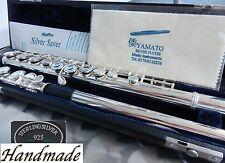 Flauta travesera CABEZAL EN PLATA TOTAL REAL PLATEADO SÓLIDA 925 STERLING-SILBER