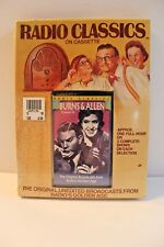 Radio Classics Burns & Allen Cassette New Sealed Radio Broadcast Old Time and