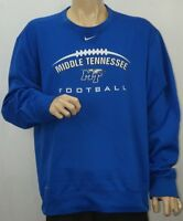 Nike Therma Fit Middle Tennessee Blue Raiders MTSU Sweatshirt Long Sleeve XL