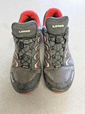 """Lowa """"Aerox GTX Lo Surround"""" Gray, Goretex, Trail Running Shoes - Men's 9"""