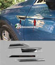 Modanature cromo/nero parafanghi anteriori  Volkswagen TIGUAN 16 4 pezzi