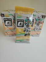 2020 Donruss Optic Football Blaster Box LOT OF 2 + 1 2020 Optic Cello Pack 🔥🔥