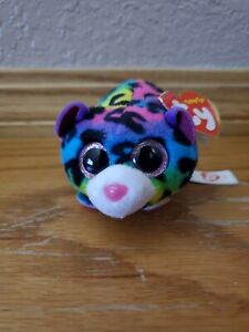 "TY Beanie Boos Teeny Tys 4"" JELLY Leopard Stackable Plush Stuffed Animal"