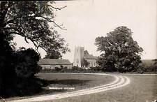 Burnham Thorpe near Burnham Market. Church & Track.