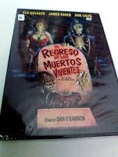 """DVD """"EL REGRESO DE LOS MUERTOS VIVIENTES"""" PRECINTADO SEALED DAN O'BANNON CLU GUL"""