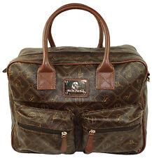 Giulia Pieralli Damentasche Tasche Shopper Reisetasche  dunkelbraun  No. 26824
