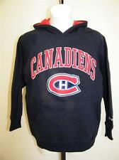 NEW Montreal Canadiens YOUTH XLARGE XL 18-20 REEBOK HOODIE 43AD