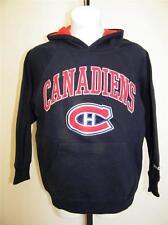 NEW Montreal Canadiens YOUTH XLARGE XL 18-20 REEBOK HOODIE 43AD