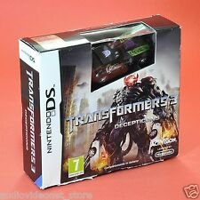 TRANSFORMERS III 3 DECEPTICONS NINTENDO DS compatibile 3DS italiano nuovo
