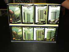 JOHN DEERE HISTORICAL 4 PC. TOY SET 1988 NEVER PLAYED WITH