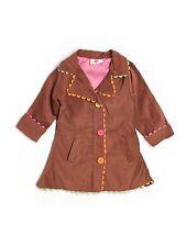 Toddler Girl Chatti Patti Brown Corduroy Ric Rac Jacket Blazer Size 4T