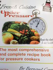 NEW Pressure Cooker Cookbook French Cuisine