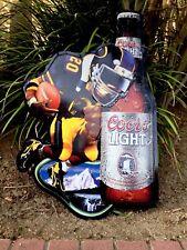 Coors Light Vintage Nfl Sign Nfl Football Steelers Them. Man Cave Home Bar