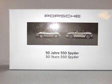 1/43 Porsche 50 yrs Spyder Set Minichamps RARE NR