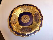 Weimaer Porzellan echt Kobalt Teller