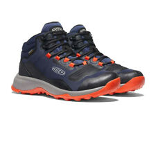 Keen Mens Tempo Flex Waterproof Walking Boots Navy Blue Sports Outdoors
