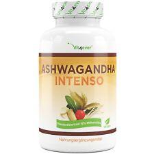 ASHWAGANDHA - 180 Kapseln (v) - 1500 mg pro Tag - 10% Withanoliden Hochdosiert