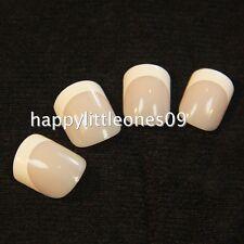 24pcs Pre-designed French False Full Nail Tips Manicure w Nail Tape & File New